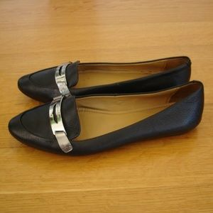 COACH (Size 8.5B) Ruthie Penny Loafer Driver Flats
